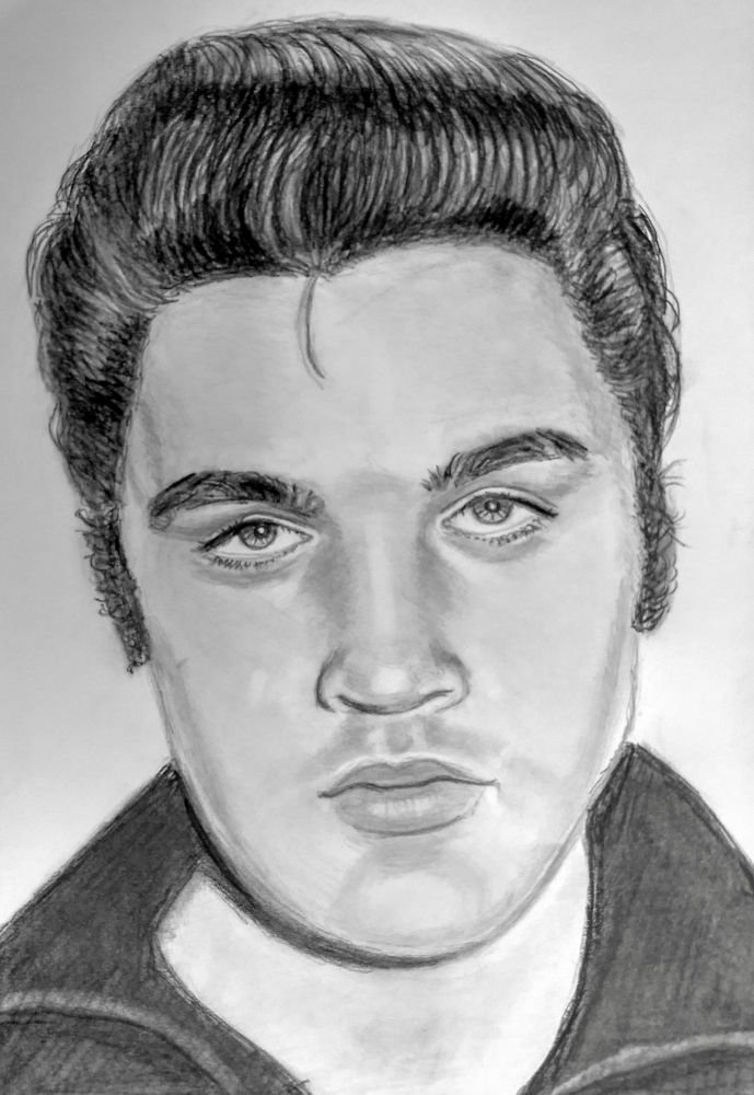 Elvis Presley by paulb